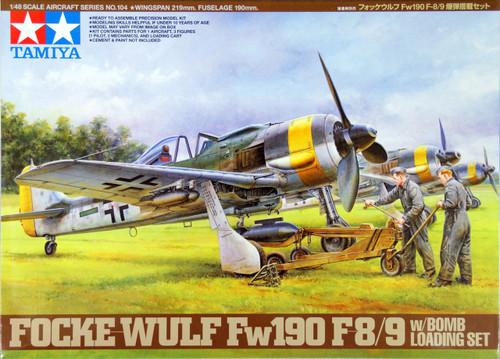 Tamiya 61104 FOCKE-WULF Fw190 F-8/9 1/48 Scale Kit