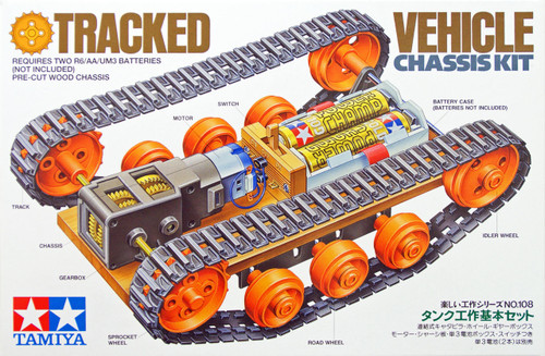 Tamiya 70108 Tracked Vehicle Chassis Kit