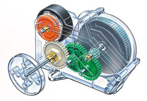 Tamiya 70222 Friction Power Unit