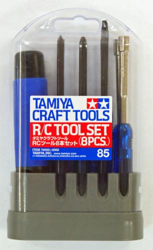 Tamiya 74085 Craft Tools - R/C Tool Set (8pcs.)