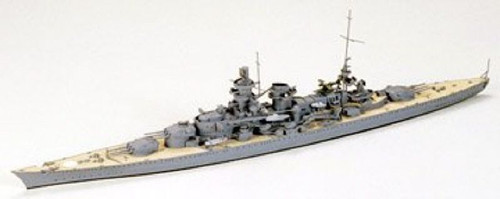 Tamiya 77518 German Battlecruiser Scharnhorst 1/700 Scale Kit