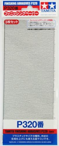 Tamiya 87094 Finishing Abrasives P320 (3 pcs.)