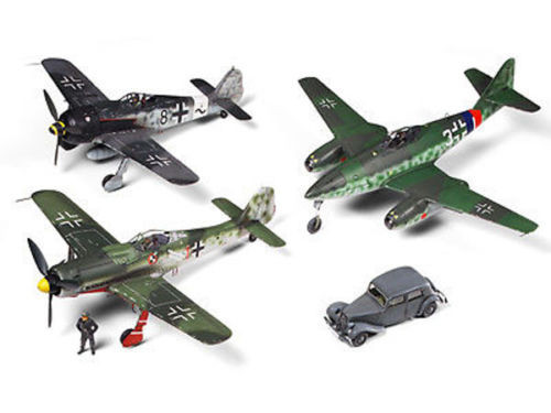 "Tamiya 89769 Luftwaffe Interceptor Set ""Defence of Germany"" 1/48 Scale Kit"
