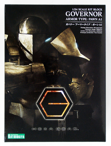 Kotobukiya HG007 Hexa Gear Governor Armor Type: Pawn A1 1/24 Scale Kit