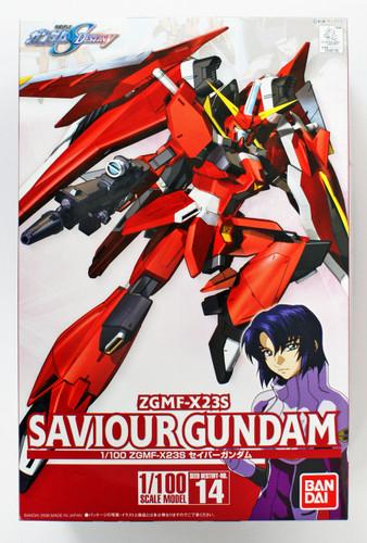 Bandai 467300 HG Gundam Seed Destiny ZGMF-X23S SAVIOUR GUNDAM 1/100 Scale Kit