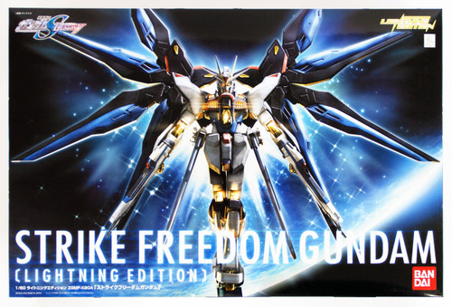 Bandai 386090 HG Gundam Seed Destiny STRIKE FREEDOM GUNDAM (Lightning Edition) 1/60 Scale Kit