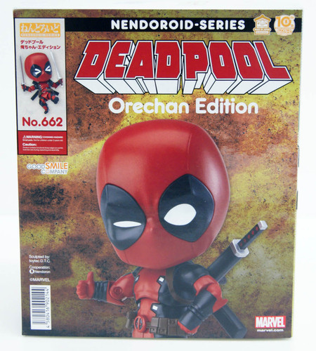 Good Smile Nendoroid No.662 Deadpool Orechan Edition Figure