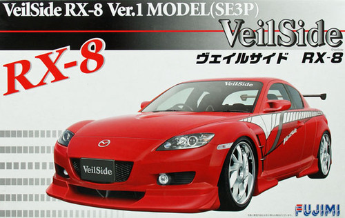 Fujimi ID-138 Mazda RX-8 VeilSide Version1 Model (SE3P) 1/24 Scale Kit 038056