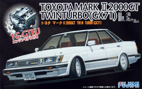 Fujimi ID-156 Toyota Mark II 2000GT Twin Turbo (GX71) 1/24 Scale Kit 038346