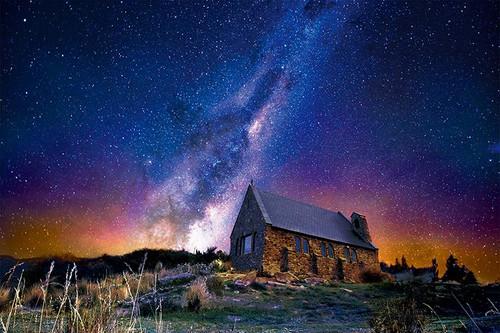 Epoch Jigsaw Puzzle 10-789 Starry Sky Tekapo New Zealand (1000 Pieces)