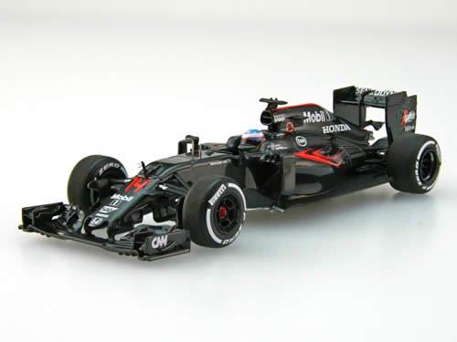 Ebbro 45486 McLaren Honda MP4-31 2016 No.14 Fernando Alonso 1/43 scale