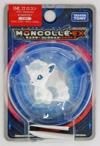 Takara Tomy Pokemon Moncolle Monster Collection EX EMC_22 Alola Vulpix (Rokon)