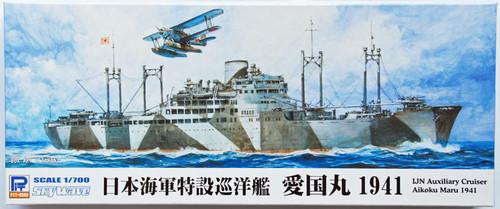 Pit-Road Skywave W-134 IJN Cruiser Aikokumaru 1941 1/700 Scale Kit
