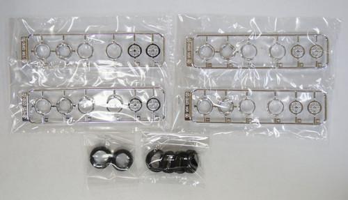 Fujimi TW66 Racing Hart Wheel & Tire Set 14 inch 1/24 Scale Kit
