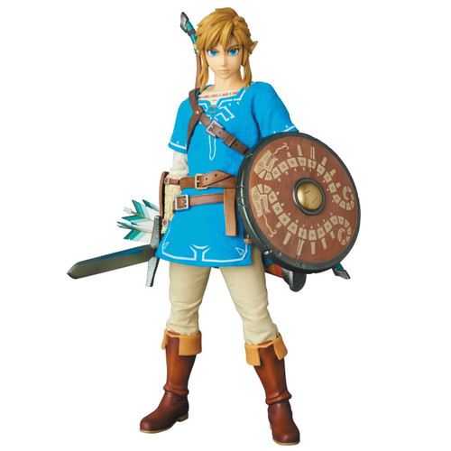 Medicom RAH 764 Real Action Heroes - Link Breath of the Wild Ver. (The Legend of Zelda)