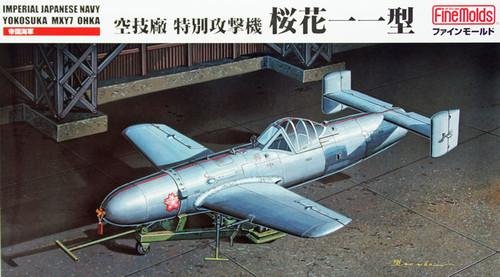 Fine Molds FB15 Imperial Japanese Navy Yokosuka MXY7 Ohka 1/48 Scale Kit
