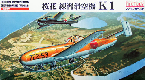 Fine Molds FB16 Imperial Japanese Navy Ohka Unpowered Trainer K1 1/48 Scale Kit