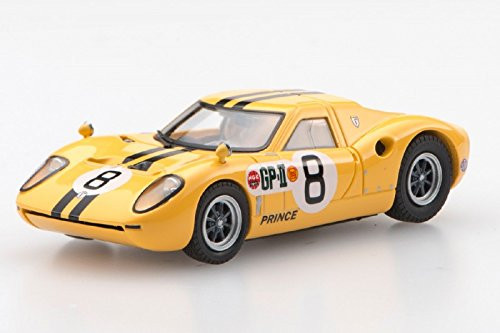 Ebbro 45345 Prince R380 1966 Japan GP IKUZAWA No.8 Yellow 1/43 scale