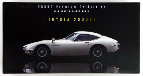 Ebbro 24032 TOYOTA 2000GT (Silver) 1/24 Scale