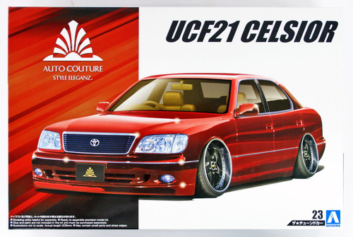 Aoshima 53546 Auto Couture UCF21 Celsior (Toyota) 1/24 scale kit