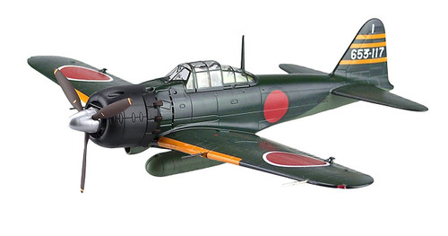 Aoshima 83864 Diecast Model 03 A6M5 Type Zero Model52 No. 653 1/48 scale