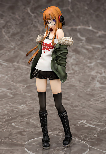 Phat! Persona 5 Futaba Sakura with Morgana 1/7 Scale Action Figure