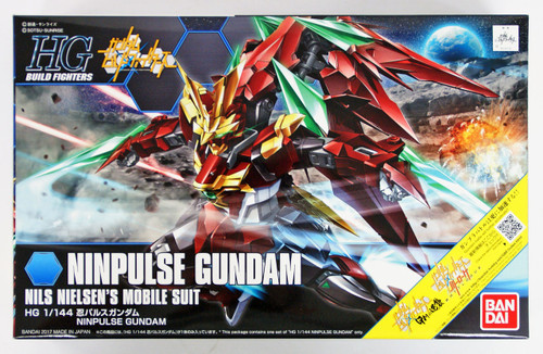 Bandai HG Build Fighters 057 NINPULSE GUNDAM 1/144 scale kit