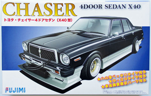 Fujimi ID-173 Toyota Chaser 4 Door Sedan (X40) 1/24 Scale Kit