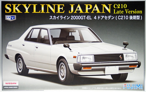 Fujimi ID-174 Nissan Skyline Japan 2000GT-EL C210 Late Version 1/24 Scale Kit