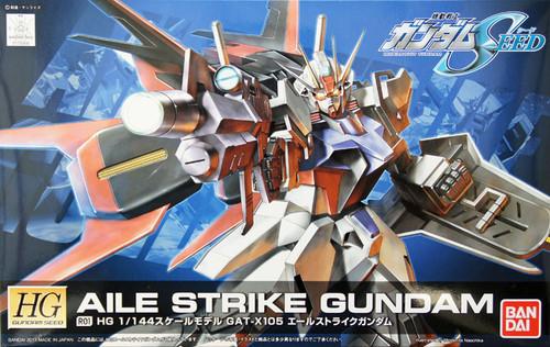 Bandai R01 AILE STRIKE Gundam 1/144 Scale Kit (HG Gundam Seed)