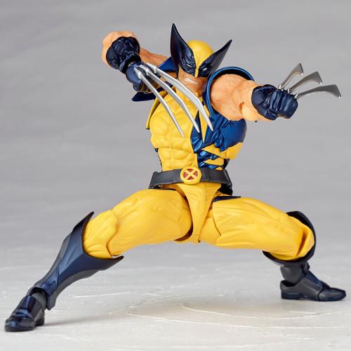 Kaiyodo Amazing Yamaguchi 005 X-Men Wolverine Action Figure