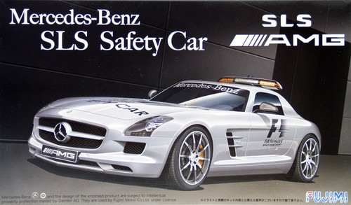 Fujimi RS-88 Mercedes Benz AMG SLS Safety Car 1/24 Scale Kit 123981