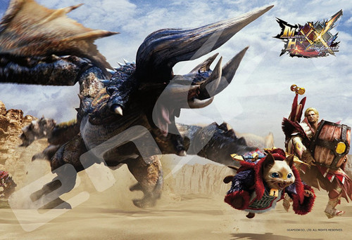 Ensky Jigsaw Puzzle 300-1192 Monster Hunter XX Massacre Demon Diablos (300 Pieces)