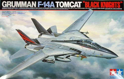 Tamiya 60313 Grumman F-14 A TOMCAT Black Knights 1/32 scale kit