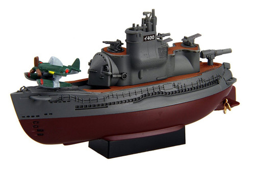 Fujimi TKSP22 Chibi-maru Kantai Fleet I-400 Submarine Non-scale kit w/ Trial Nipper