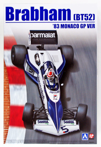 Aoshima 98233 Brabham BT52 1983 Monaco GP Version 1/20 Scale Kit