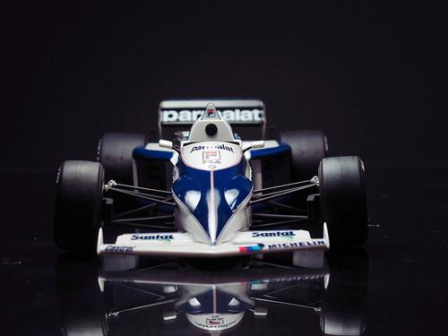 Aoshima 98233 Brabham BT52 1983 Monaco GP Ver. 1/20 scale kit