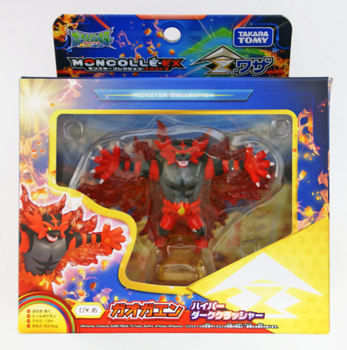Takara Tomy Pokemon Moncolle Monster Collection EX EZW-05 Incineroar Malicious Moonsault