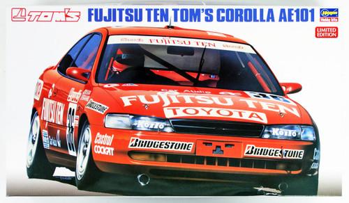 Hasegawa 20302 Fujitsu Ten Tom's Corolla AE101 1/24 scale kit