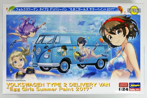 Hasegawa SP362 Volkswagen Type 2 Delivery Van Egg Girls Summer Paint 2017 1/24 scale kit