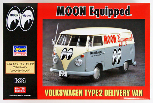 Hasegawa 20249 Volkswagen Type 2 Delivery Van Moon Equipped 1/24 scale kit