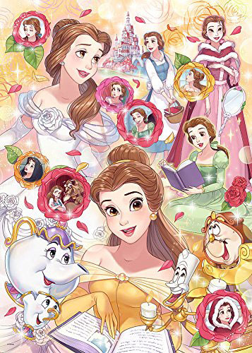 Tenyo Japan Jigsaw Puzzle D-500-476 Disney Beauty and the Beast Belle (500 Pieces)
