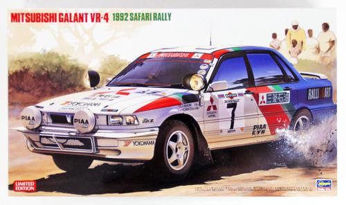 Hasegawa 20307 Mitsubishi Galant VR-4 1992 Safari Rally 1/24 scale kit