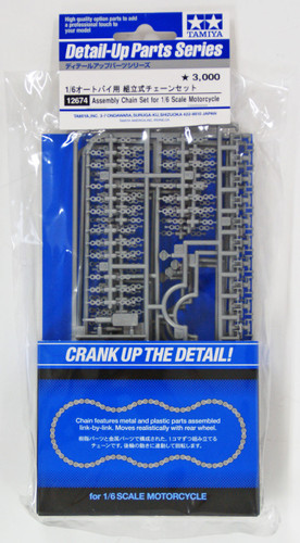 Tamiya 12674 Assembly Chain Set for 1/6 Scale Motorcycle