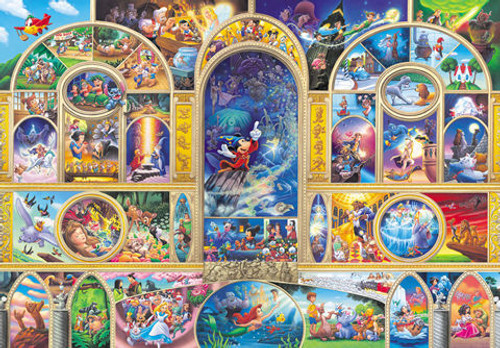 Tenyo Japan Jigsaw Puzzle D-1000-269 Disney All Characters (1000 Pieces)