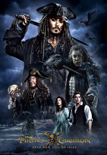 Tenyo Japan Jigsaw Puzzle D-1000-483 Pirates of the Caribbean Dead Men Tell No Tales (1000 Pieces)