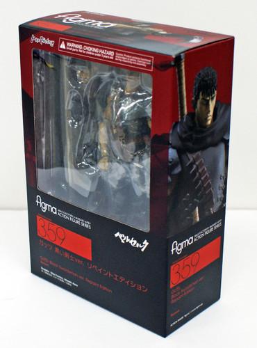 Max Factory Figma 359 Guts Black Swordsman Repaint Edition (Berserk)