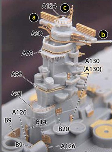 Fujimi TOKU SP72 IJN Battleship Musashi Battle of Leyte Gulf DX 1/700 Scale kit