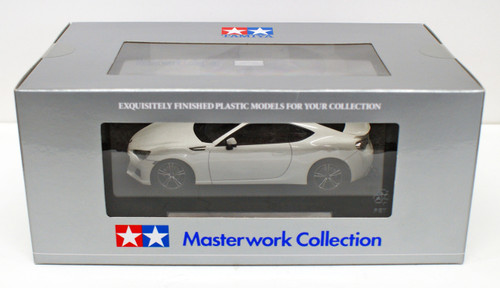 Tamiya 21128 Subaru BRZ Satin White Pearl Masterwork Collection 1/24 Scale
