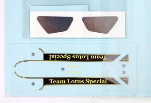 Ebbro 20021 Team Lotus Type 91 1982 Satoru Nakajima First F1 Test  1/20 scale plastic model kit